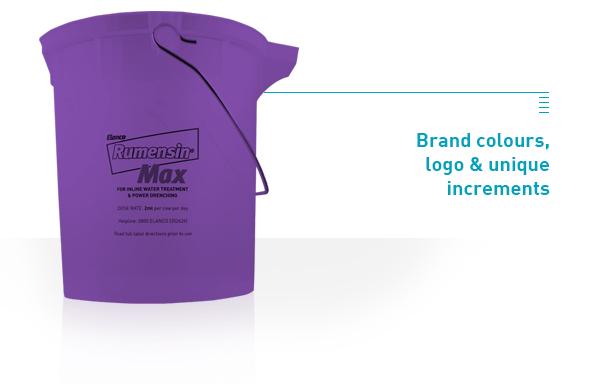 pro brand bucket